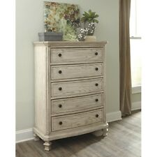 Signature Design by Ashley B693-46 Chest of Drawers - Parchment White