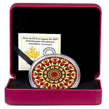 2017 Canada Canadiana Kaleidoscope Loon 1 oz Silver Colorized Proof $20 SKU45914