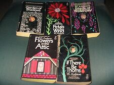Lot 5 VC Andrews Dollanganger Series Complete Flowers in the Attic Teen Horror