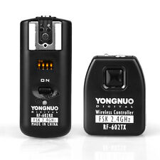 Photography 2.4GHz RF-602 Wireless Remote Control Flash Trigger for NIKON Camera