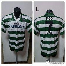 Maglia/Shirt/Camiseta Figo Sporting Lisbona Lisboa Originale Adidas