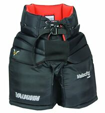 "New Vaughn 7490i Pro ice hockey goalie pants intermediate 24"" - 26"" medium black"