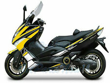 Fit for Yamaha TMAX500 2008-2011 Yellow Black White Injection Fairing Kit u01