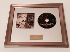 SIGNED/AUTOGRAPHED LAMB OF GOD VII: STURM UND DRANG FRAMED CD PRESENTATION.
