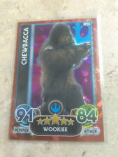 STAR WARS Force Awakens - Force Attax Extra Trading Card #101 Chewbacca