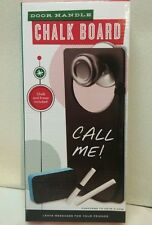 Door Handle Chalk Board with Chalk Eraser Messages Home School Office New in box