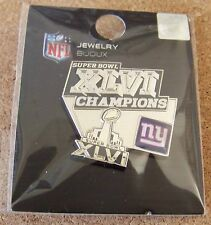 2012 Super Bowl 46 XLVI pin New York Giants Champions SB S.B. NY N.Y.