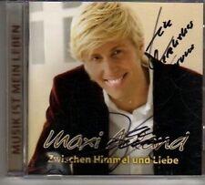 (CR159) Maxi Arland, Zwischen Himmel und Liebe - 2006 signed CD