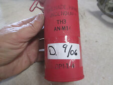 Empty Storage Container for Incendiary Hand Grenade TH3, Used