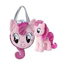 Aurora My Little Pony 7'' PINKIE PIE Pet Carrier, Pony Tail Purse ~NEW~
