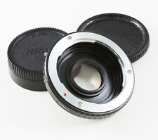 Contax Yashica C/Y lens To Nikon Camera Adapter Focus Infinity Optic