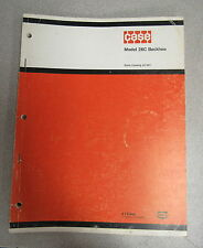 Case 26C Backhoe Parts Catalog Manual A1207 1973