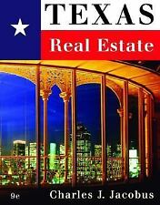 NEW - Texas Real Estate by Jacobus, Charles J.