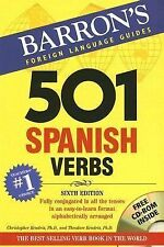 501 Spanish Verbs by Theodore Kendris and Christopher Kendris no cd