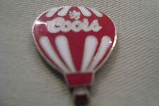 RARE VINTAGE OLD ENAMELED COORS BEER B2 BALLOON BUTTON PIN METAL BADGE BROOCH