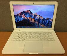 "Apple MacBook 7,1 Laptop 13"" Intel 2.4GHz 2GB RAM 250GB HD 2010 A1342 MC516LL/A"