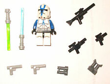 LEGO SET 75004 501 501st CLONE Pilot Minifigure Blue Green Light Saber Blaster