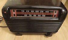vintage 1946 Philco Tube Radio Model 46-250 10524P