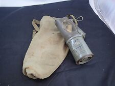 Vintage WWII US Non Combatant Child Gas Mask M1A2-1-1 with Bag/Pouch