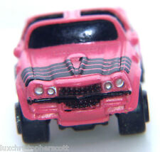 Micro Machines  CHEVY CHEVROLET '70s Camaro Car - PINK/BLACK T-Top  - Galoob