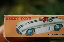 Cunningham C-5R Road Racer Dinky Toys  Number 133 Reproduction BOX ONLY