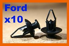 10 Ford plastic fastener screw mud flaps splash guard panel wheel arch panels