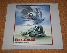 LP Vinyl DEF CON 4 Original Soundtrack OST Chris Young