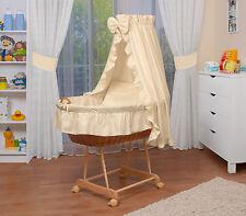 WALDIN Baby Passeggino XXL ,Culla per neonato NUOVO ! Giallo/Beige