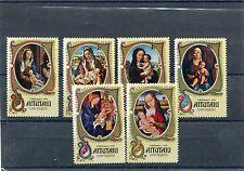 Aitutaki 1974 Natale 115-20  mnh