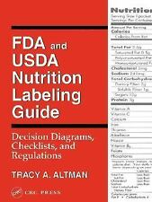 FDA and USDA Nutrition Labeling Guide: Decision Diagrams, Check-ExLibrary