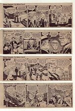 Steve Canyon by Milton Caniff - 16 daily comic strips from April 1971