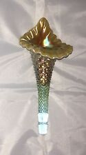 Fenton Hobnail Aqua Opalescent Glass for Levay Epergne Horn