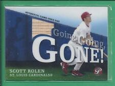 2004 Topps Going Going Gone Game Used  SCOTT ROLEN no.GGG-SR Cardinals