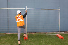 Temporary Fencing Packages - NEW (Panel, PVC  Encased Base & Clamp)