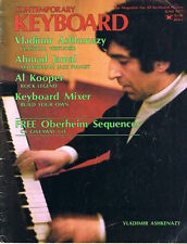 1977 Vladimir Ashkenazy, Build a Keyboard Mixer, Piano Care, Rhodes Ad, Magazine
