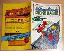 ED.CORNO SERIE  IL GIORNALINO DELL'UOMO RAGNO  N° 17  1981  !!!!!