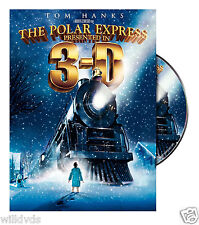 The Polar Express 3D (DVD, 2005, Widescreen) 2 DISC SET-FREE SHIP* CHECK DETAILS