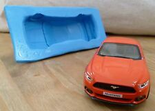 3D 11cm FORD MUSTANG GT 2015 CAR SILICONE MOULD FOR CAKE TOPPERS, CHOCOLATE ETC