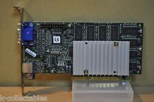 3dfx Voodoo 3 3000 16MB AGP 3.3V Vintage PC Video Card STB SYSTEMS 210-0364-003!