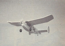R/C Twin Lizzie Old Timer Sport Plane Plans, Templates and Instructions