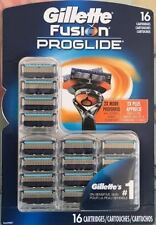 Gillette Fusion Proglide Razor Blades 16 Cartridges - New (2 x 8 Pack)