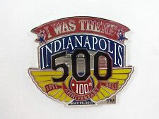 2011 Indianapolis 500 100th Anniversary Collector I Was There Pin Dan Wheldon