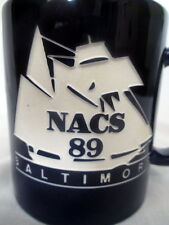 NACS FOUNDATION CAMEX 1989 COFFEE CUP MUG BALTIMORE NATIONAL ASSOC FOR COLLEGE
