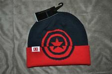 Under Armour Alter Ego CAPTIN AMERICA Cuff Beanie 1252110 410 Boys OSFM Navy NWT