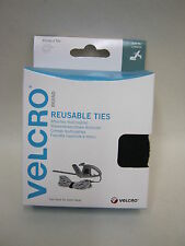 New Velcro Self Gripping Black Ties Cable Tidy 30mm 5m 60254
