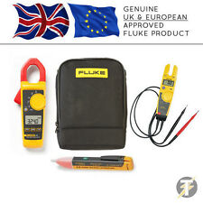 Fluke 324 Digital Clamp Meter + T5-600 Voltage & Continuity + 1AC + C115 Case