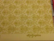 Dollhouse Wallpaper Mini Marie Antoinette
