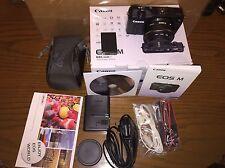 Canon EOS EOS M 18.0mp Fotocamera Reflex Digitale-Nero (Kit con-M 22mm EF Lens)