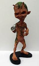 LITTLE GREEN MAN Alien Martian JOHN PINKERTON FX Model Kit PRO BUILT 1990s RARE