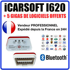 Interface iCARSOFT i620 BLUETOOTH - Puce ELM327 ÉVOLUTIVE - Diag OBD - COM VAG